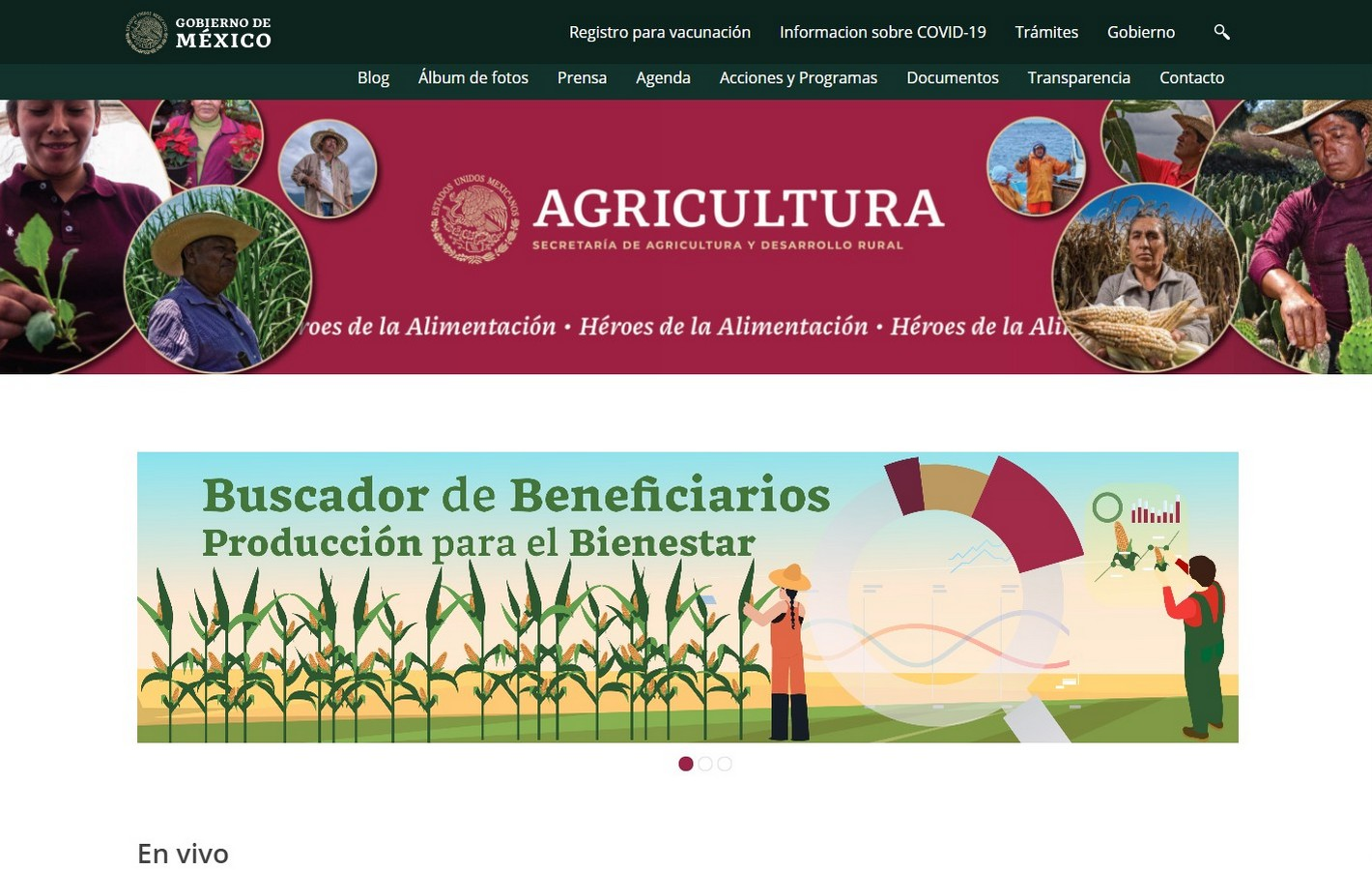 Secretaria de Agricultura